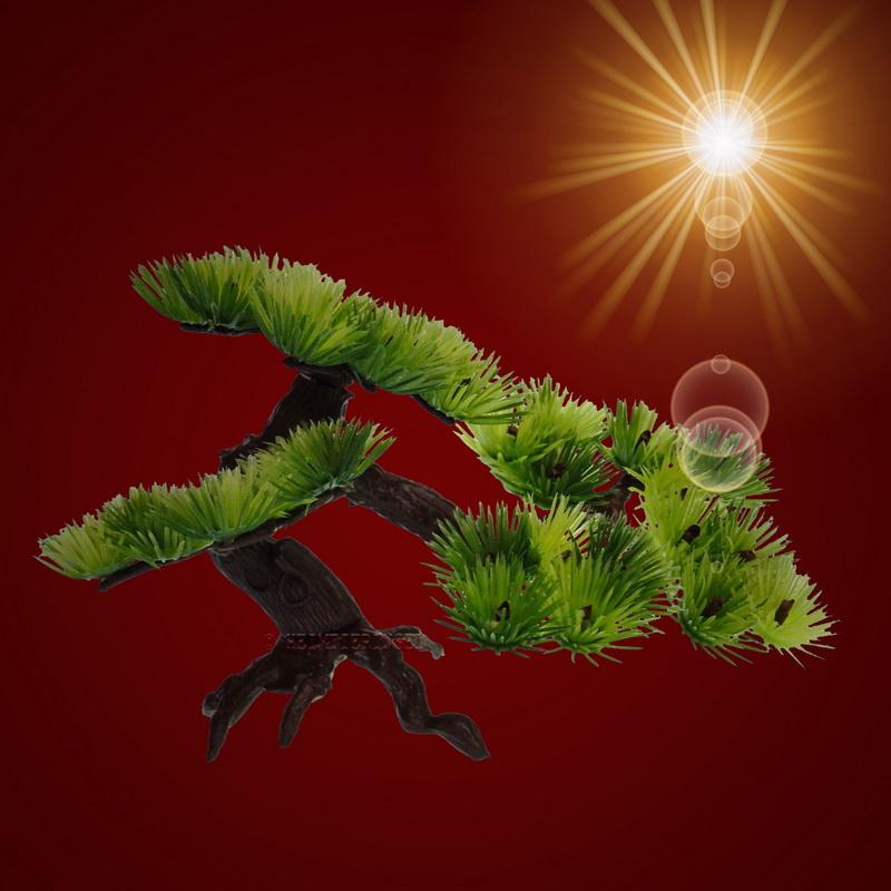 aquarium deko bonsai b umchen terrarium dekoration zubeh r pflanze ebay. Black Bedroom Furniture Sets. Home Design Ideas