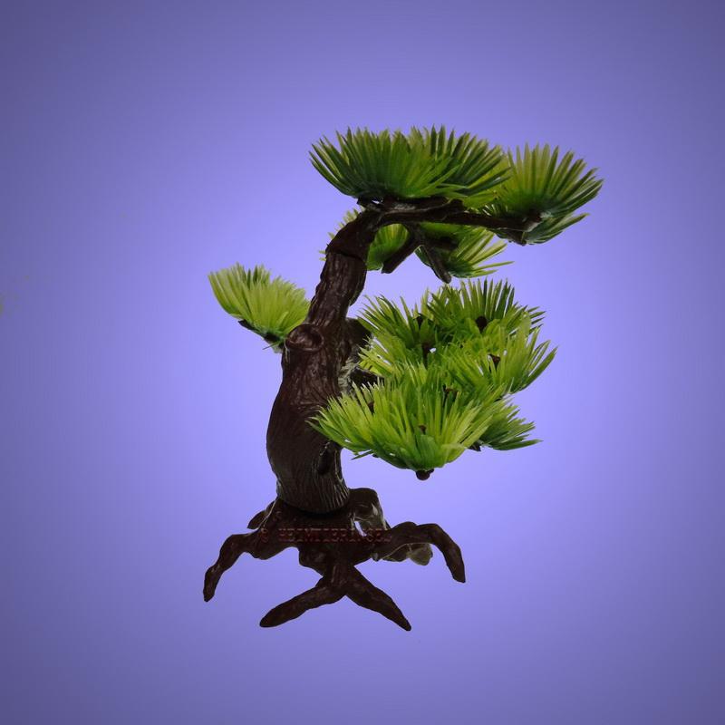 aquarium deko bonsai b umchen 17 cm dekoration terrarium zubeh r pflanzen ebay. Black Bedroom Furniture Sets. Home Design Ideas