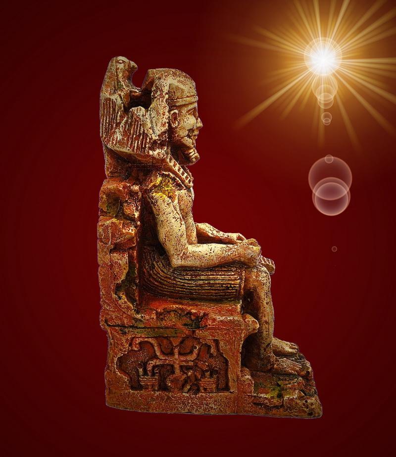 aquarium deko pharao gypten terrarium dekoration zubeh r ebay. Black Bedroom Furniture Sets. Home Design Ideas