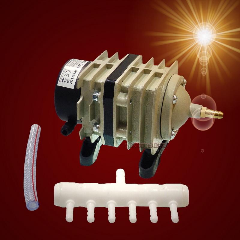 Aquarium teich luftkompressor sauerstoffpumpe bel fter for Aquarium teich